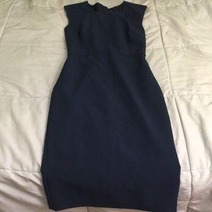 Navy blue dress by BR
